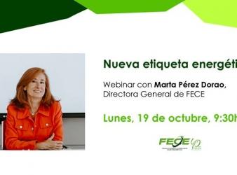 Webinar FECE sobre Etiquetado Energético 19 octubre 9:30 h